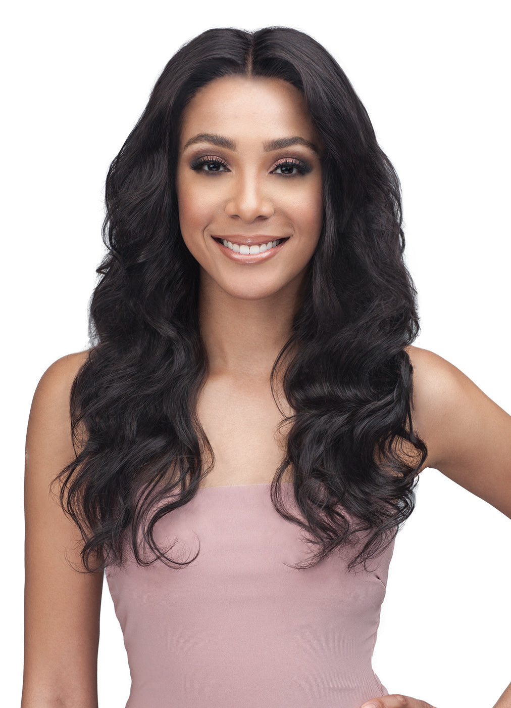 "Bobbi Boss Unprocessed Virgin Remy 13x4"" Swiss Lace Wig MHLF312 AMINA"