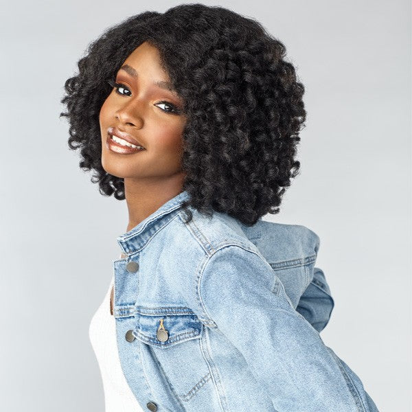 Sensationnel Empress Curls Kinks & CO Textured Lace Front Wig ROLE MODEL