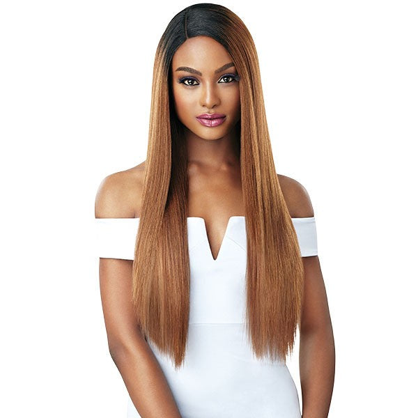 Outre &Play Human Hair Premium Blend Swiss Lace Wig SAGE