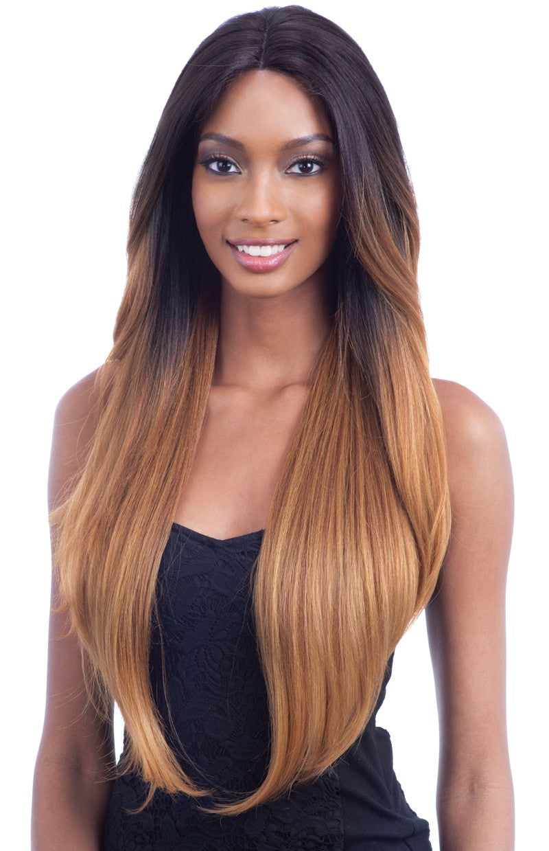 Model Model Premium Seven Star V-Shaped Lace Front Wig EV-003