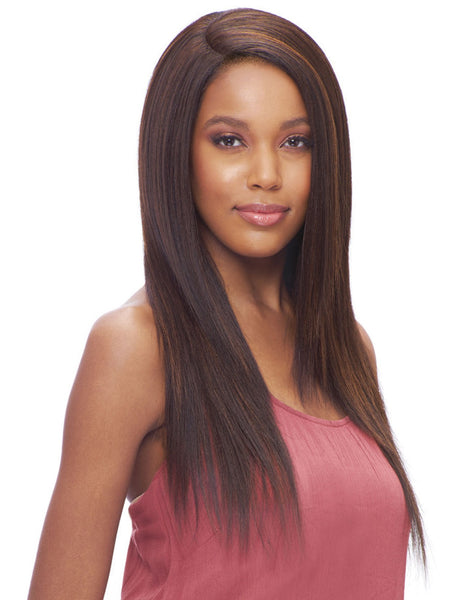 Vanessa Honey-C Brazilian HH Blend Swissilk Lace Front C-Side Part Wig TCHB TANYAS