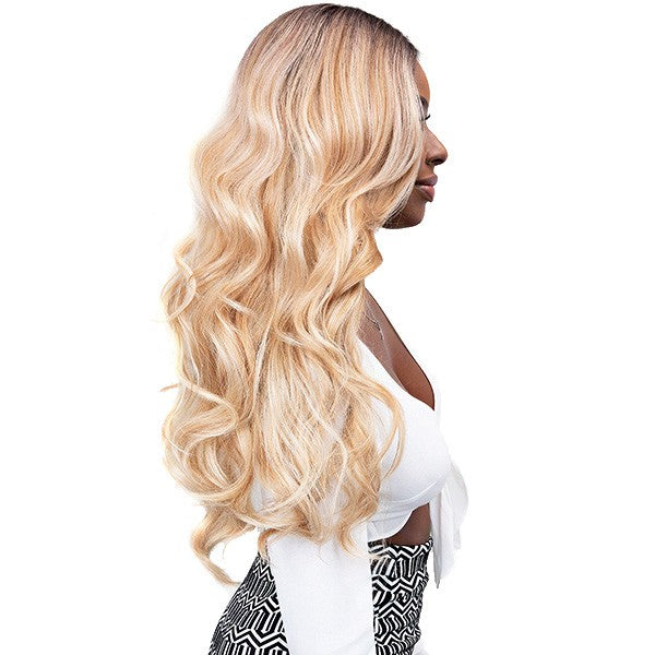 Janet Collection Swiss Lace Extended Deep Part Lace Wig VIVIA