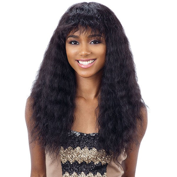 Shake-N-Go Brazilian Natural Unprocessed HHair Naked Nature Wig DEEP CURL