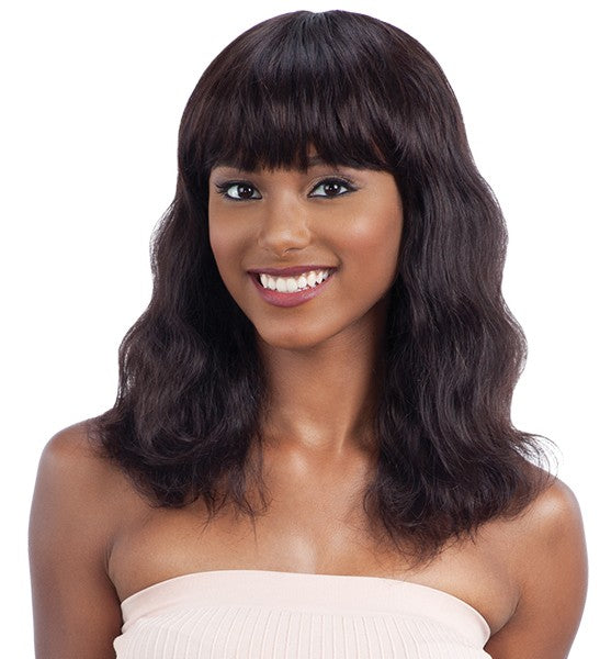 Shake-N-Go Naked Brazilian Natural Unprocessed Human Hair Wig S-WAVE (S)