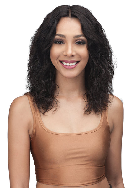 "Bobbi Boss Unprocessed Virgin Remy 13x4"" Swiss Lace Wig MHLF310 NISA"