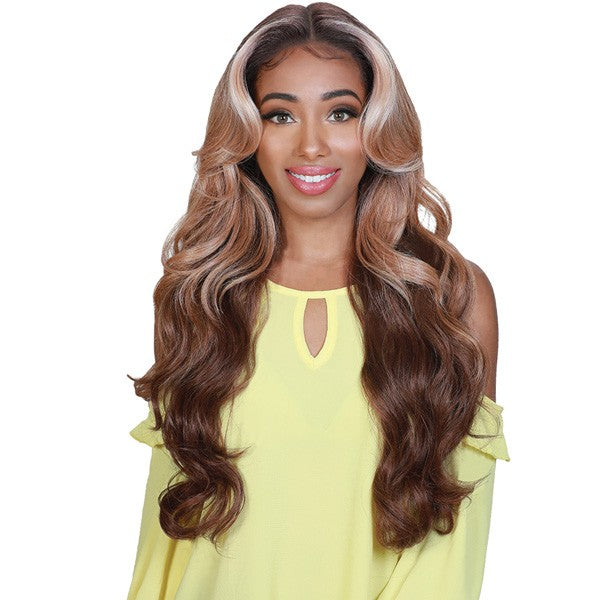 "Zury Sis Beyond 5"" Hand Tied Part Lace Front Wig BYD LACE H CHILL"