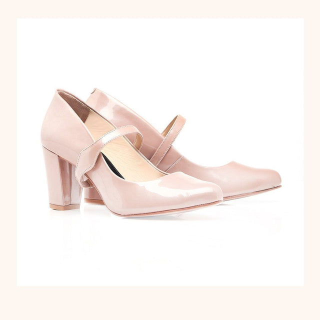 Pair of Blush Pink Shoes