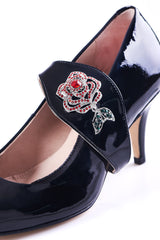 Time to Bloom in Black Heels