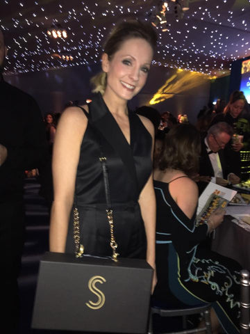 Joanne Froggatt and Shoes by Shaherazad
