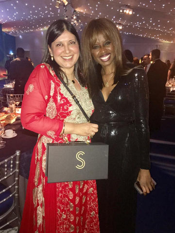 Shaherazad Umbreen and June Sarpong