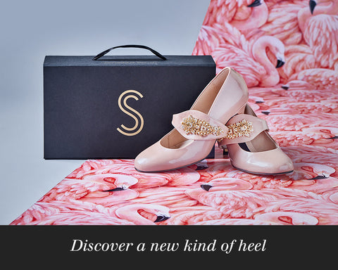 Discover a new kind of flamingo heel