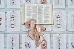 Shoes and a Book