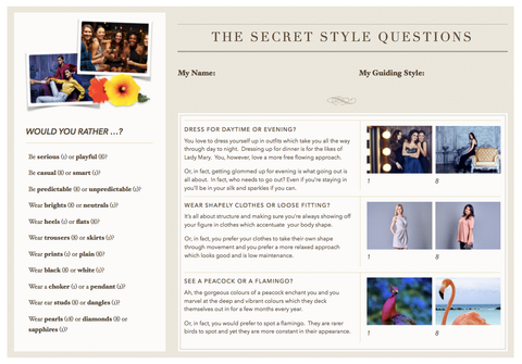 Secret Style Questions