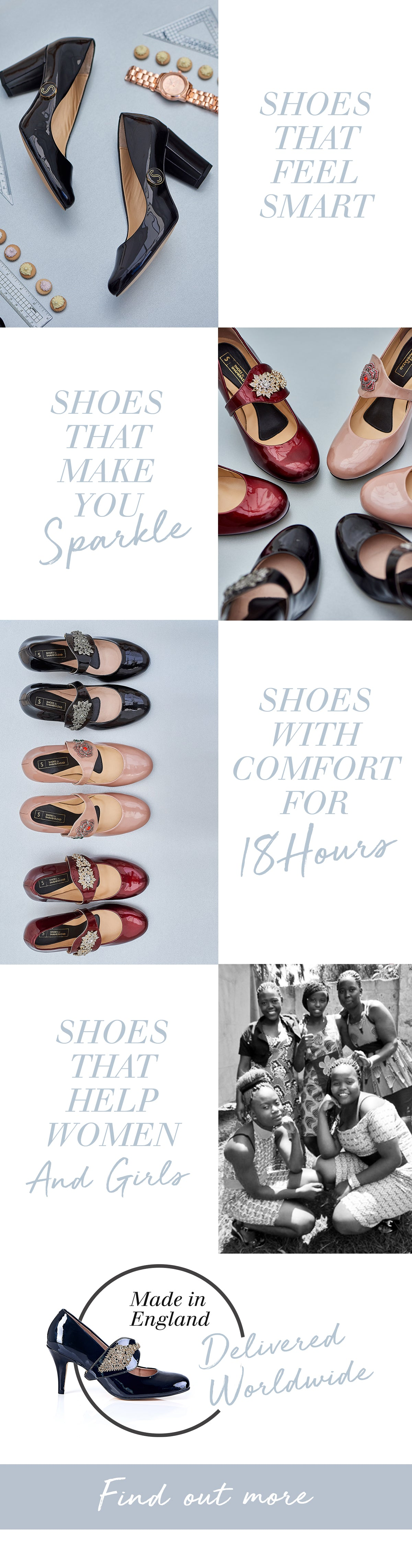 Shoes with comfort and style