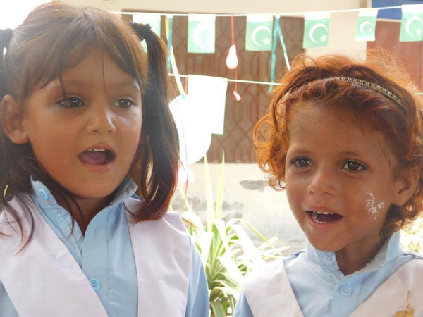 Shoes by Shaherazad helping girls in pakistan access education