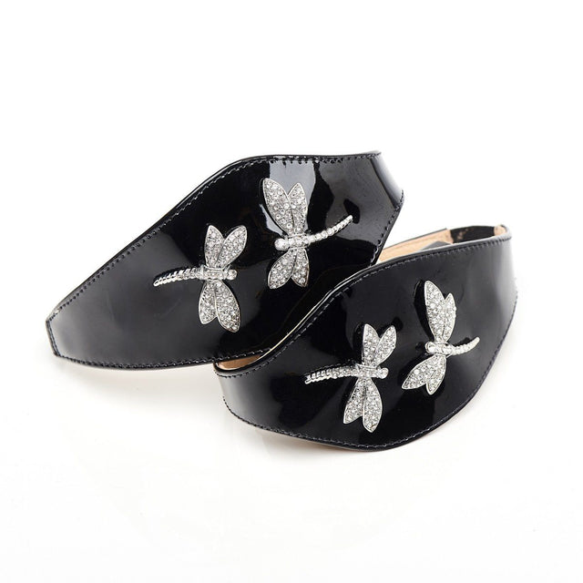 Dragonfly shoes shoe jewellery