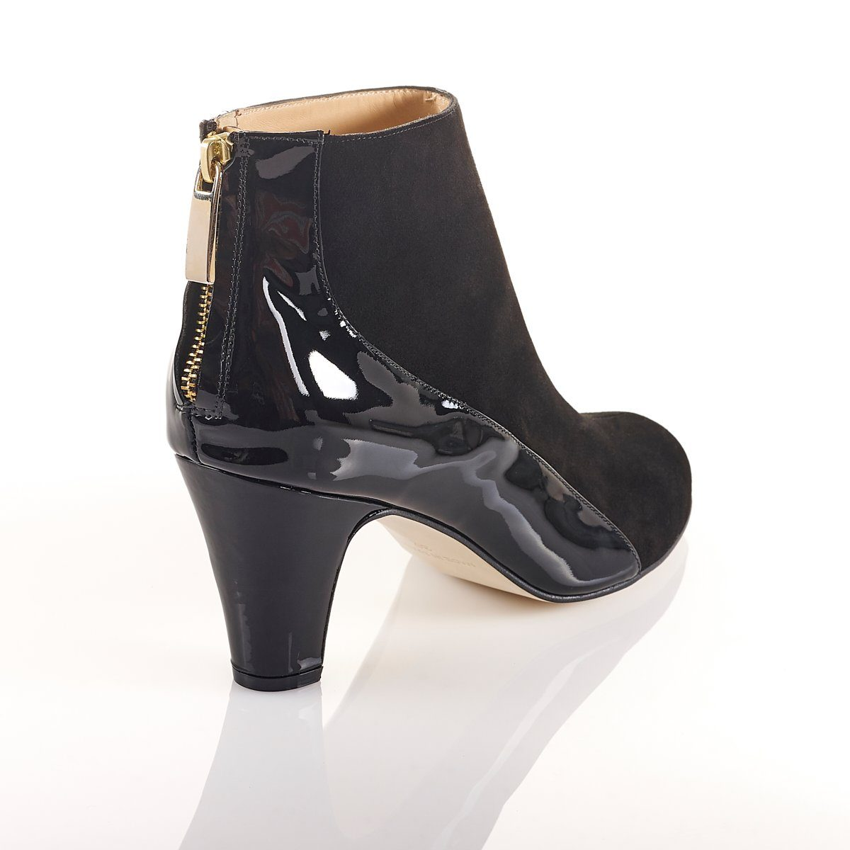 She.E.O - Luxury Black Ankle Boots (Pre-Order) - Shoes by Shaherazad
