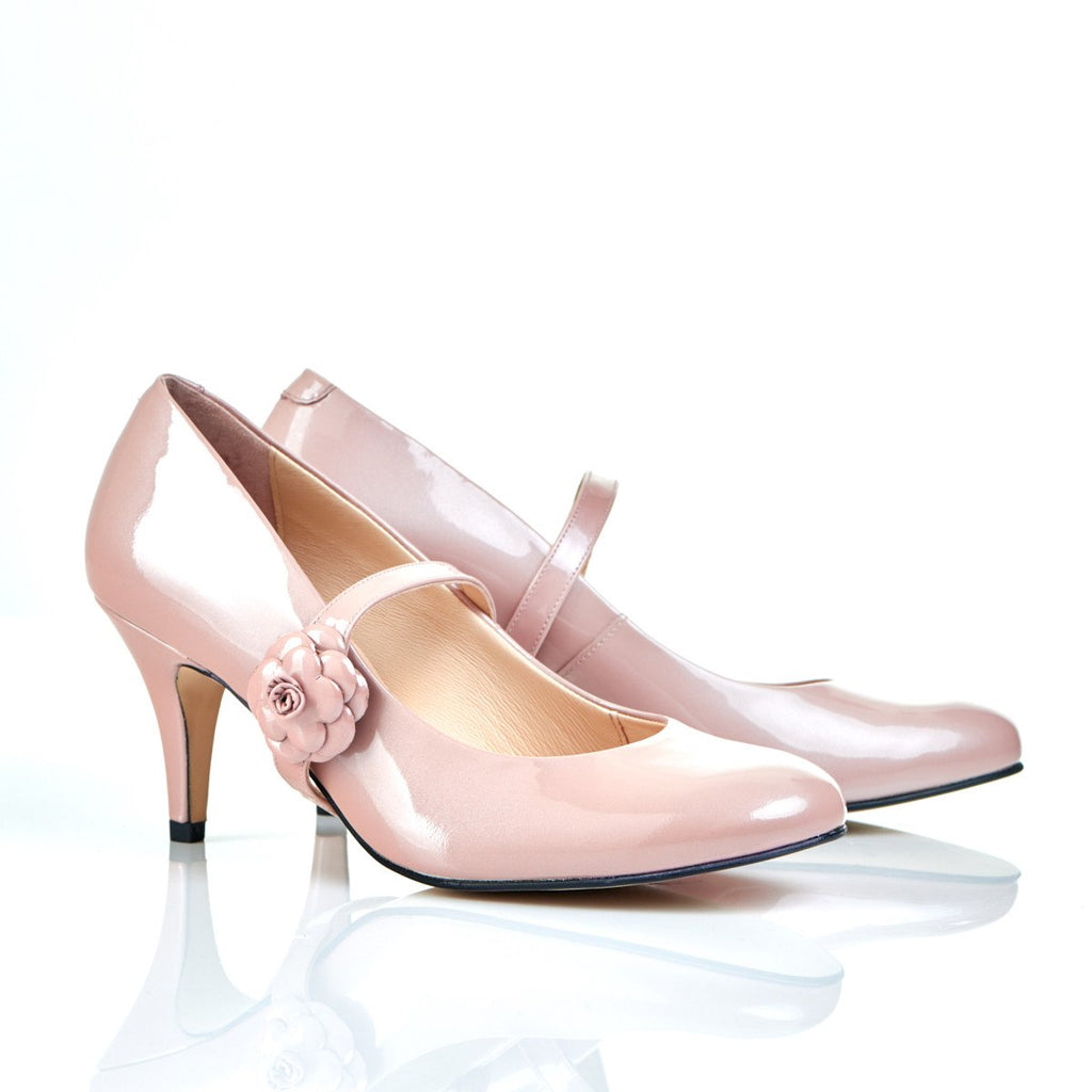 Don't Wait Up in Blush - Luxury Leather Shoes