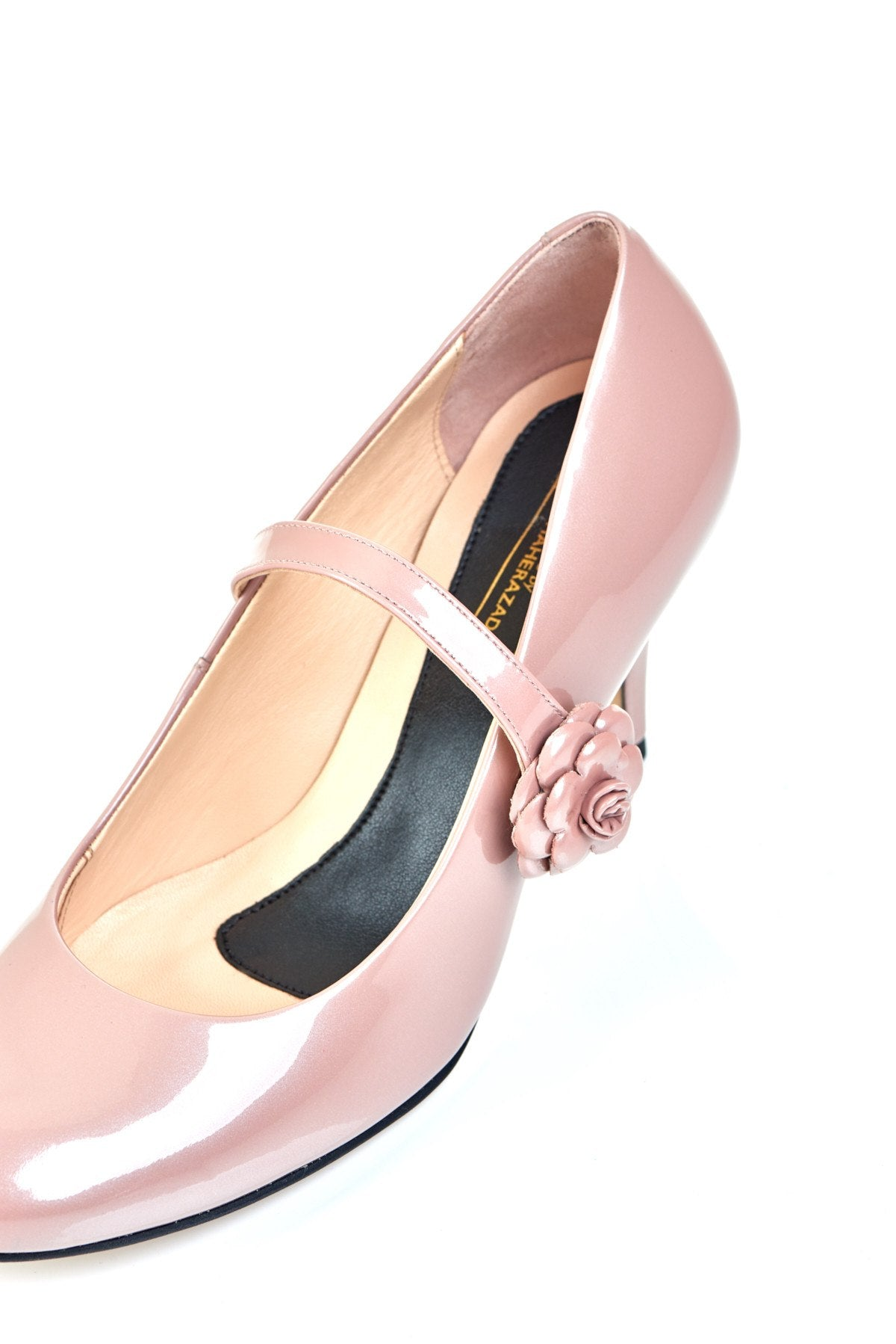 Don't Wait Up - 18 Hour Heels - Blush Leather - Shoes by Shaherazad