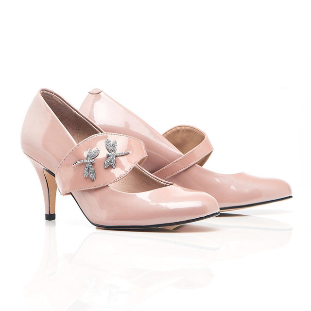 She's Unstoppable - In Blush - Shoes by Shaherazad