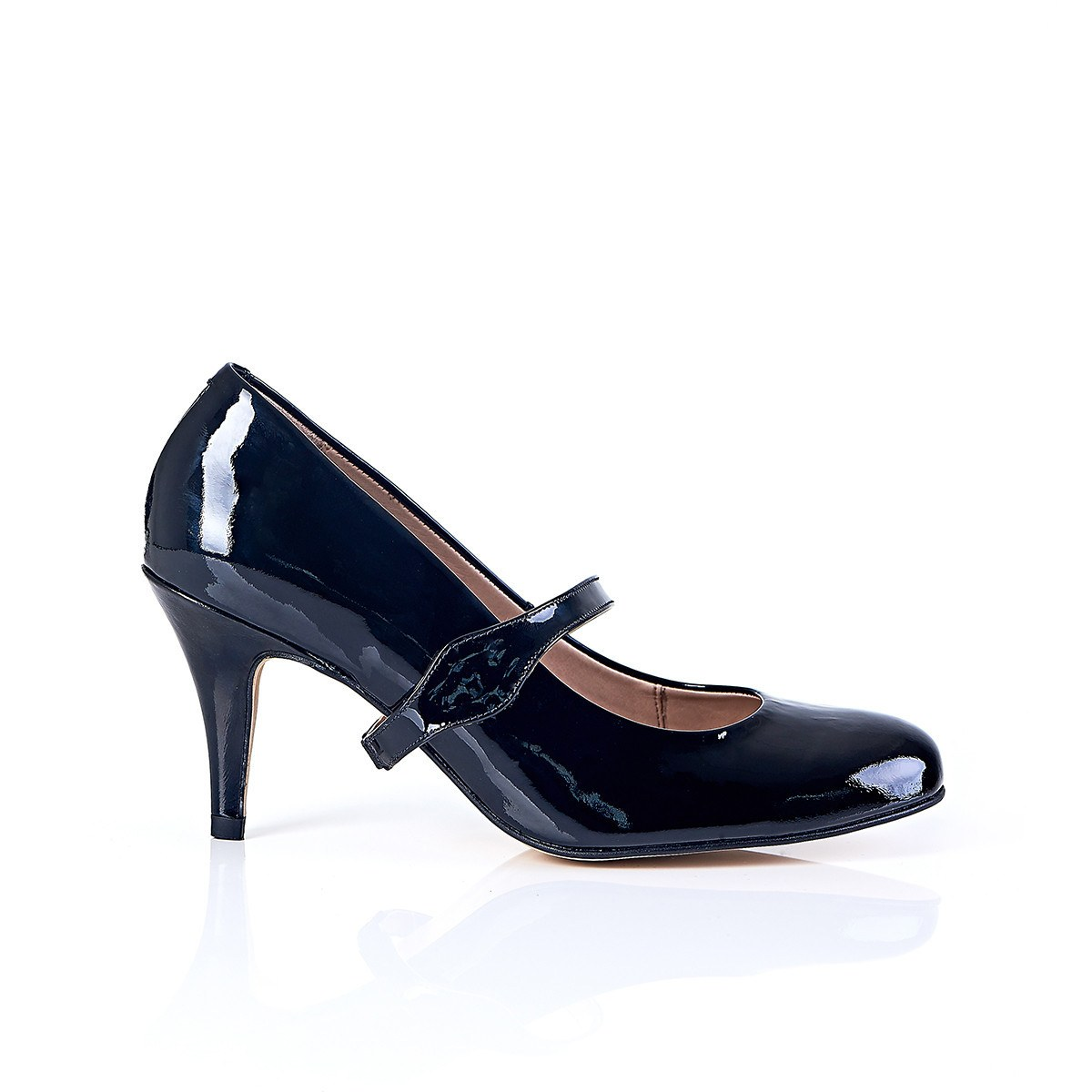 Take My Lead - 18 Hour Heels - Black Leather - Shoes by Shaherazad