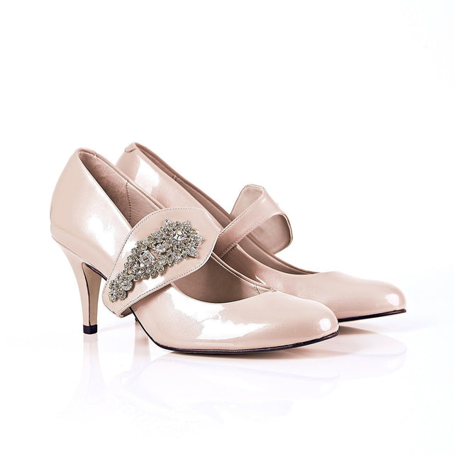 Equally Ever After - Blush Pink Heels - Shoes by Shaherazad
