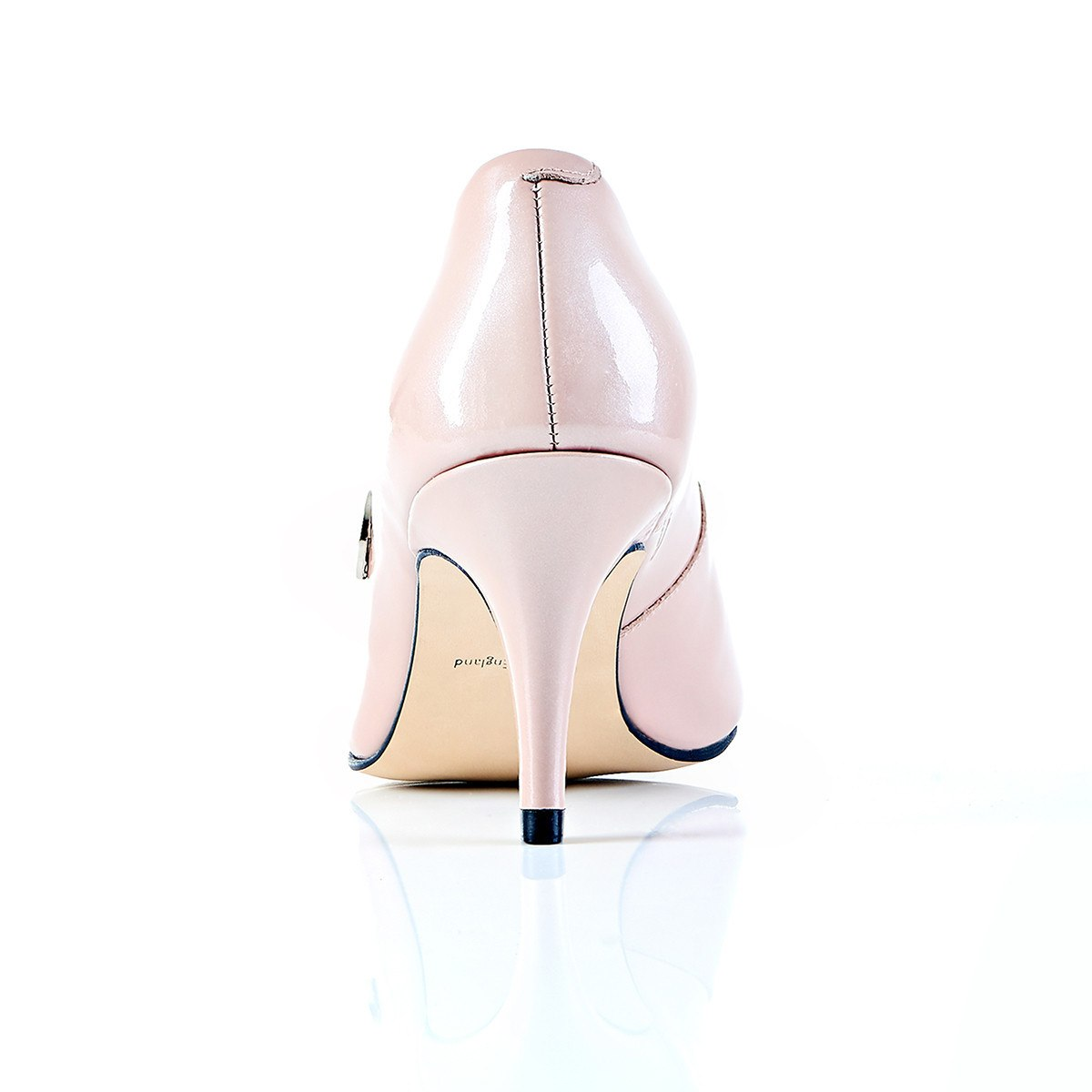 Take My Lead - 18 Hour Heels - Blush Leather - Shoes by Shaherazad