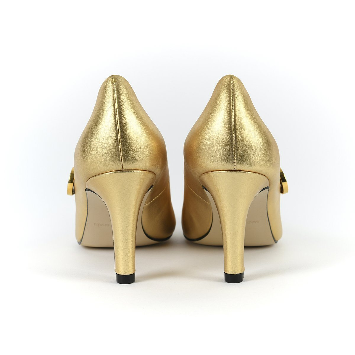 Stand Tall Sister - 18 Hour Heels - Metallic Gold - Shoes by Shaherazad