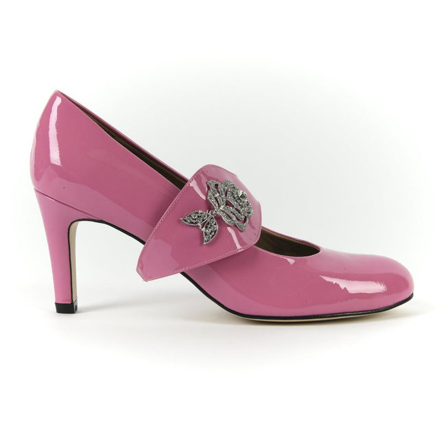 Time to Bloom - 18 Hour Heels - Poetic Pink - Shoes by Shaherazad