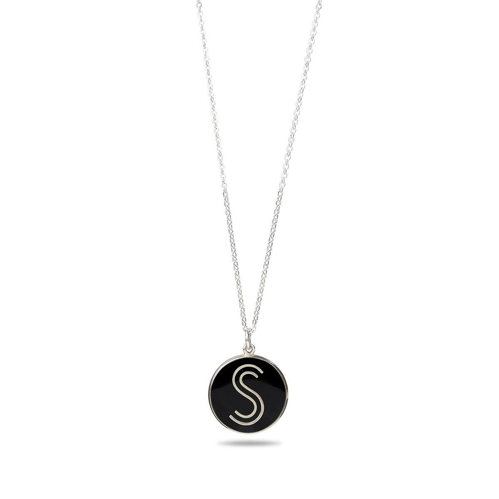 S Logo Solidarity Silver Necklace - Shoes by Shaherazad