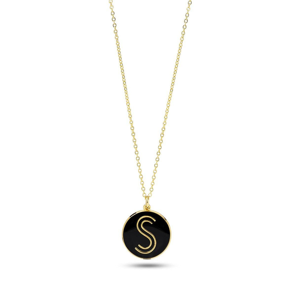 S Logo Solidarity Necklace - Shoes by Shaherazad