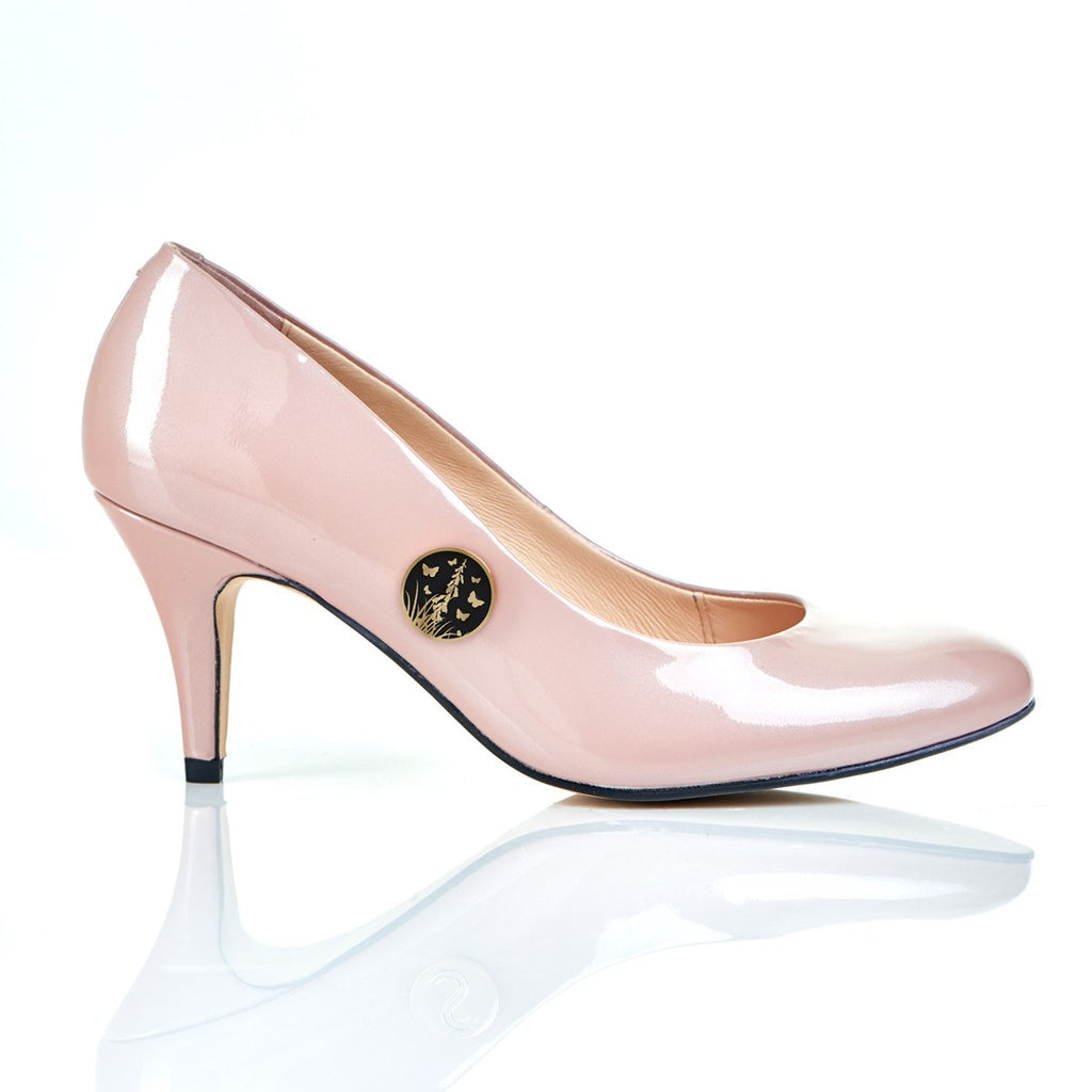 Follow your Butterflies in Blush - Luxury Leather Shoes