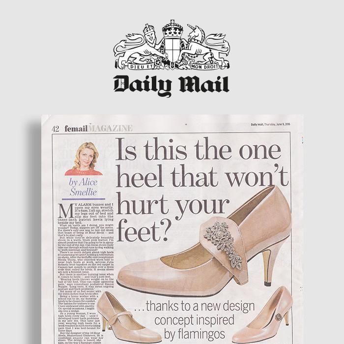 Daily Mail Review on Shoes by Shaherazad