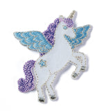 Unicorn (White/Violet/Blue)
