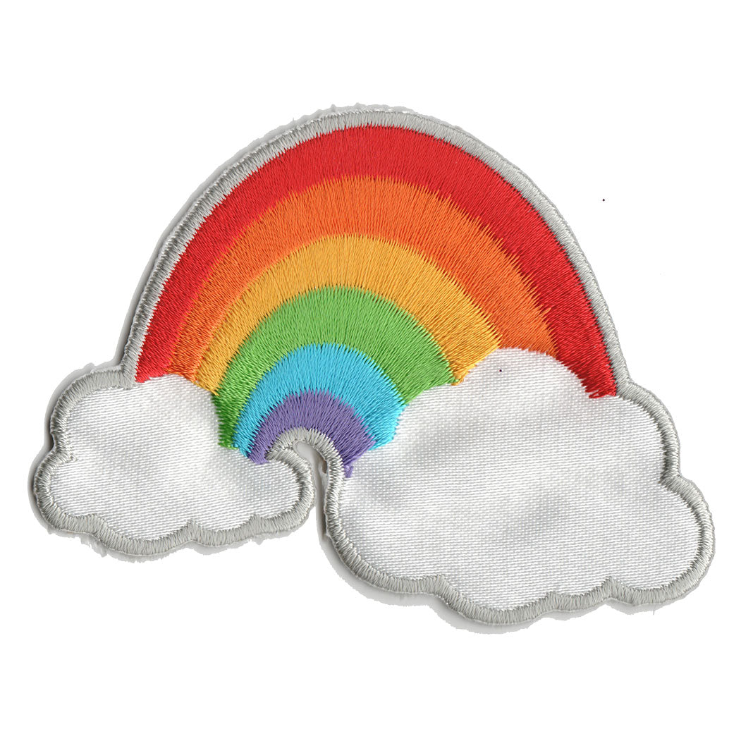 Rainbow with Clouds