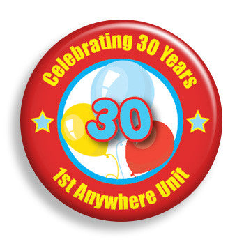 Celebration - Red (pin)