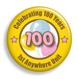 Celebration - Yellow (pin)
