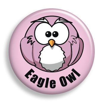 Eagle Owl (pin)