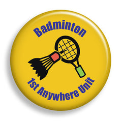Badminton Interest (pin)