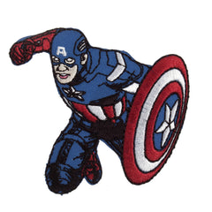 Character Cloth Badges - Captain America