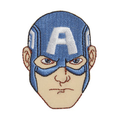 Character Cloth Badges - Captain America - Face
