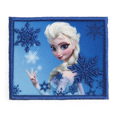 Character Cloth Badges - Frozen: Snowflakes Elsa
