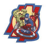 Character Cloth Badges - Hulk, Cpt America And Ironman