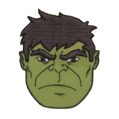 Character Cloth Badges - Hulk - Face