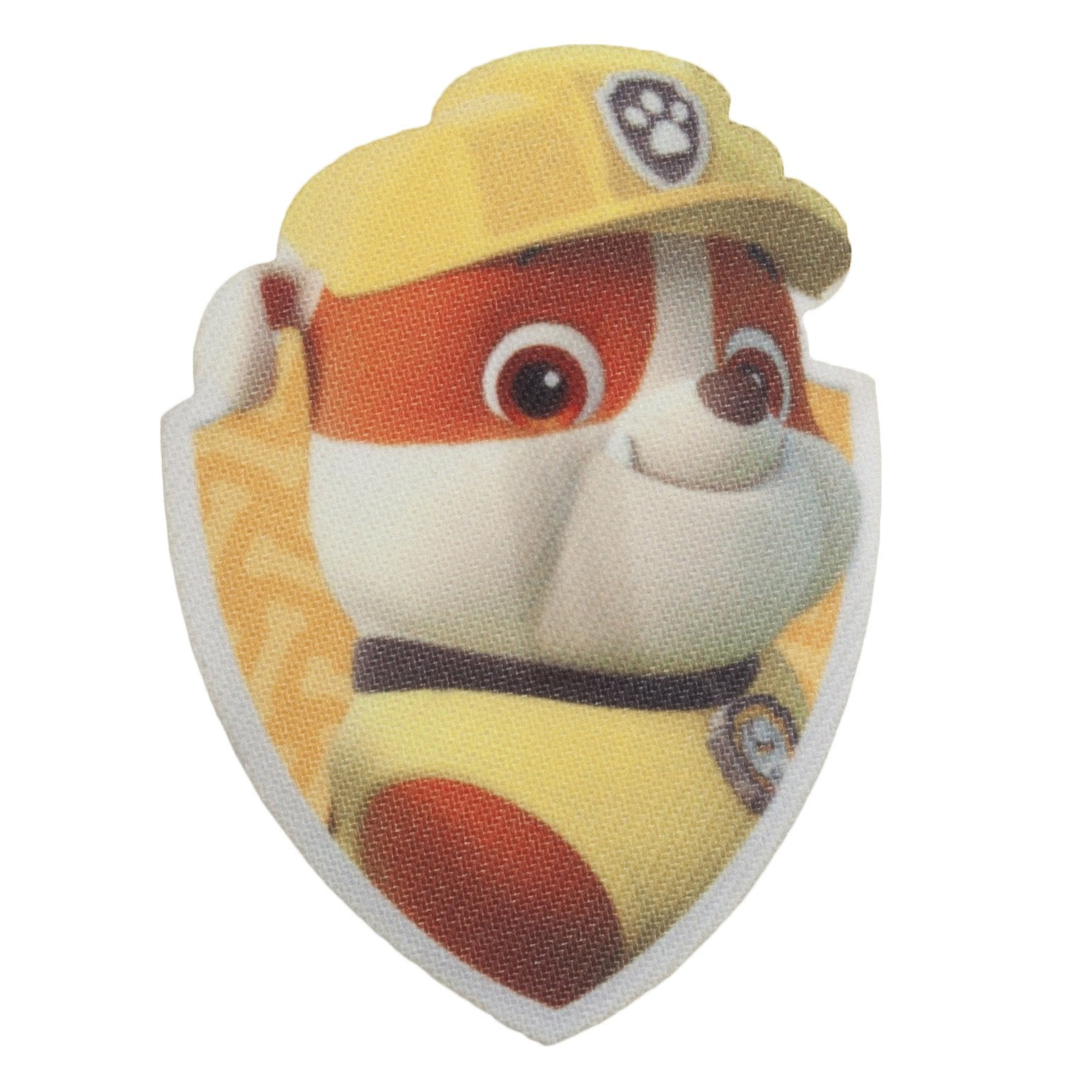 Character Cloth Badges - Paw Patrol: Rubble Shield