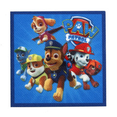 Character Cloth Badges - Paw Patrol Square