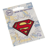Character Cloth Badges - Superman Logo