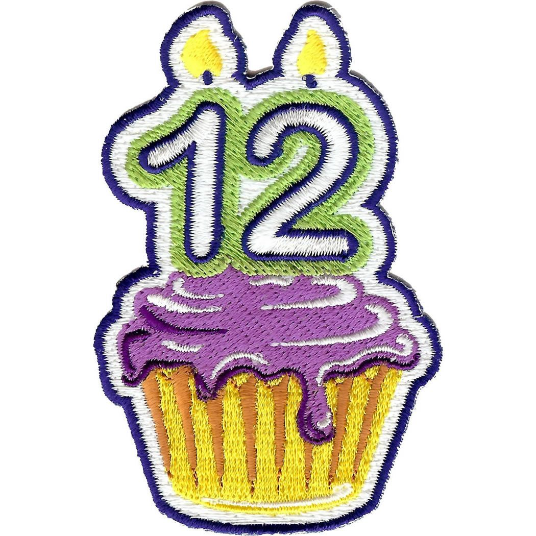 Embroidered - 12th Birthday