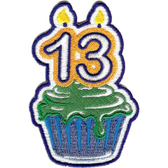 Embroidered - 13th Birthday