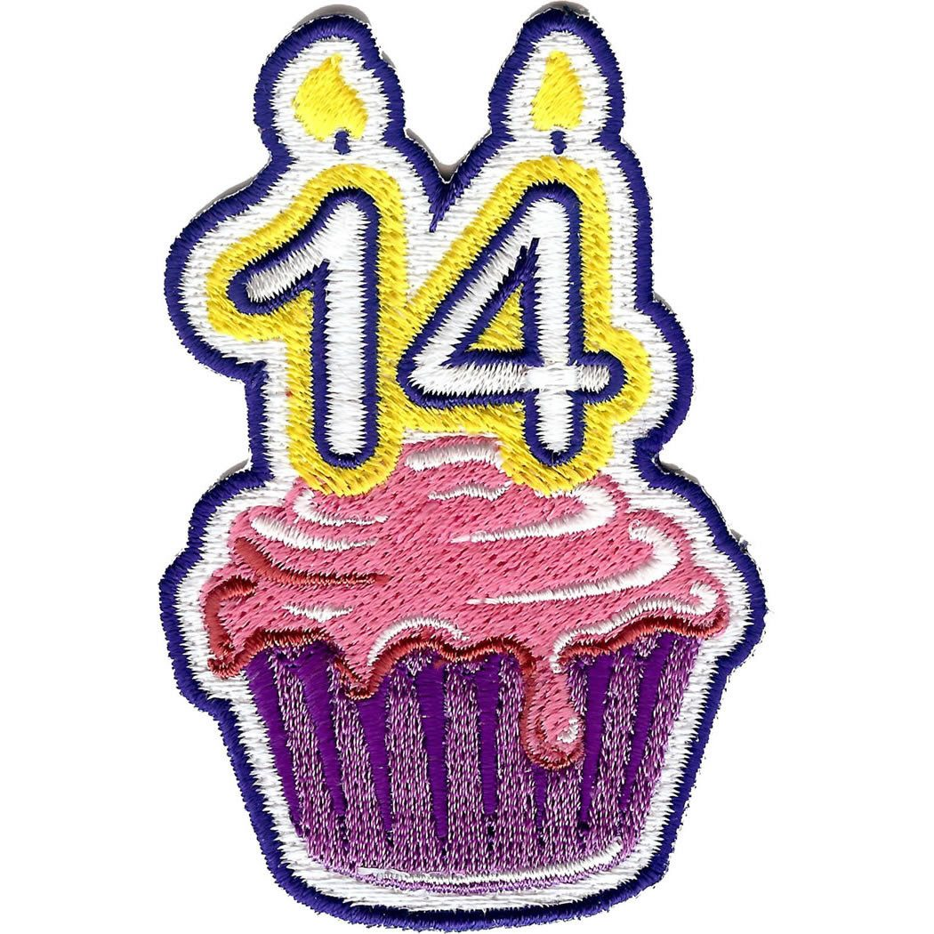 Embroidered - 14th Birthday